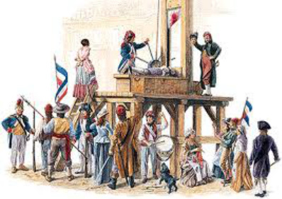 1794 when he went to the guillotine which ended the reign of terrorReign Of Terror French Revolution